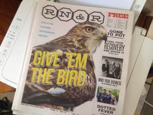 Cover Story in Reno News & Review, July 30: Give 'Em The Bird